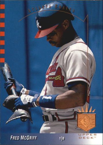 Photo of 1993 SP #60 Fred McGriff