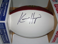 NFL - CHIEFS KEVIN HOGAN SIGNED PANEL BALL