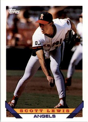 Photo of 1993 Topps #668 Scott Lewis