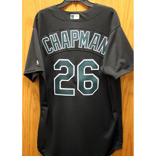 Photo of Matt Chapman Team-Issued 2002 TBTC Jersey