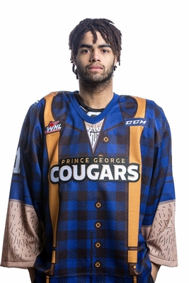 GRANT, Tavin (#1) - Autographed, Game Issued Lumberjack Jersey