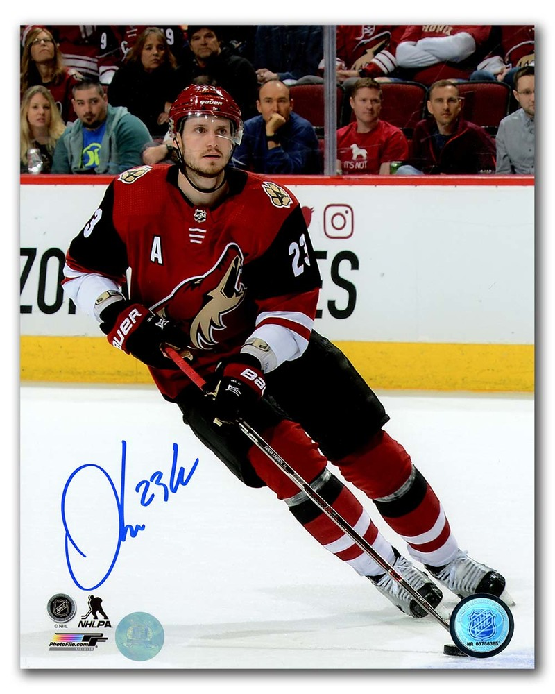 Oliver Ekman-Larsson Arizonia Coyotes Autographed Hockey 8x10 Photo