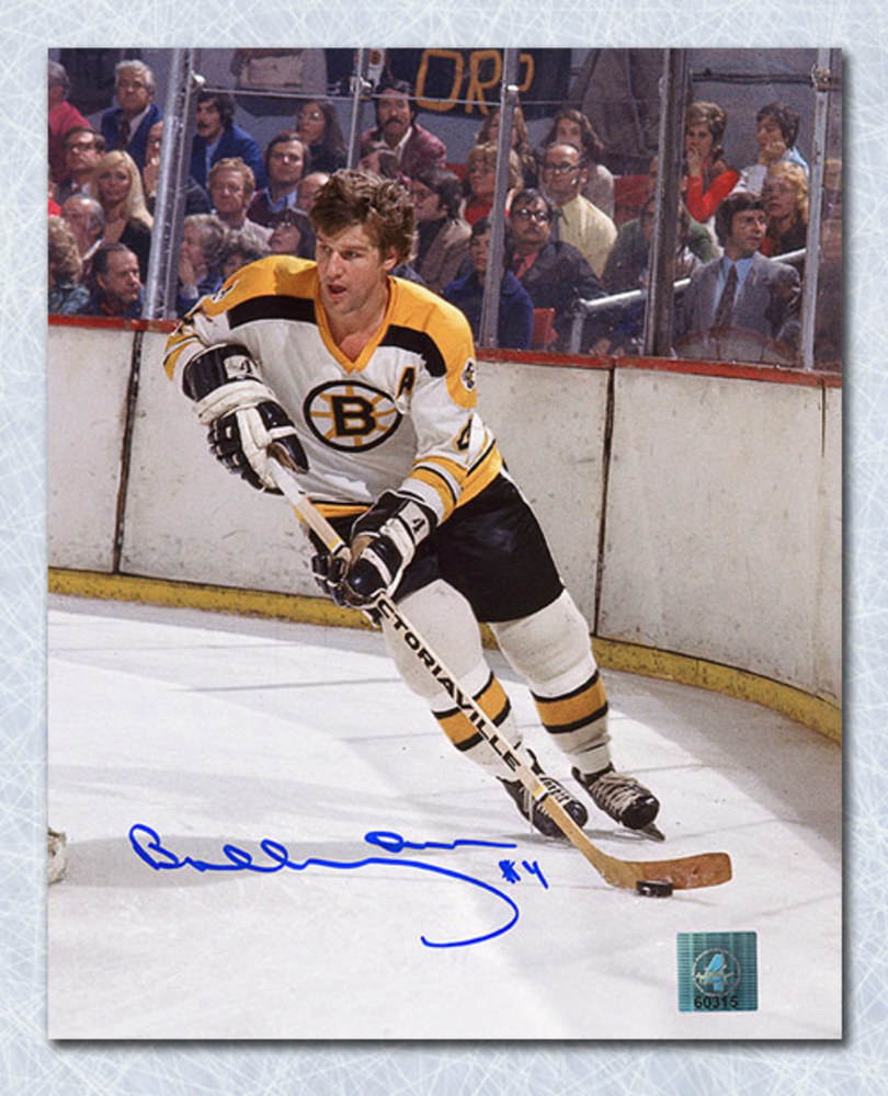 Bobby Orr Boston Bruins Autographed Boston Gardens Action 8x10 Photo: GNR COA
