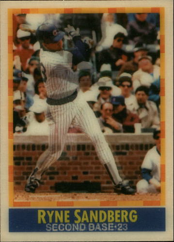 Photo of 1990 Sportflics #54 Ryne Sandberg
