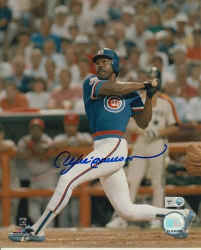 Photo of Andre Dawson Autographed 8x10