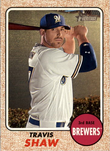 Photo of 2017 Topps Heritage #118 Travis Shaw