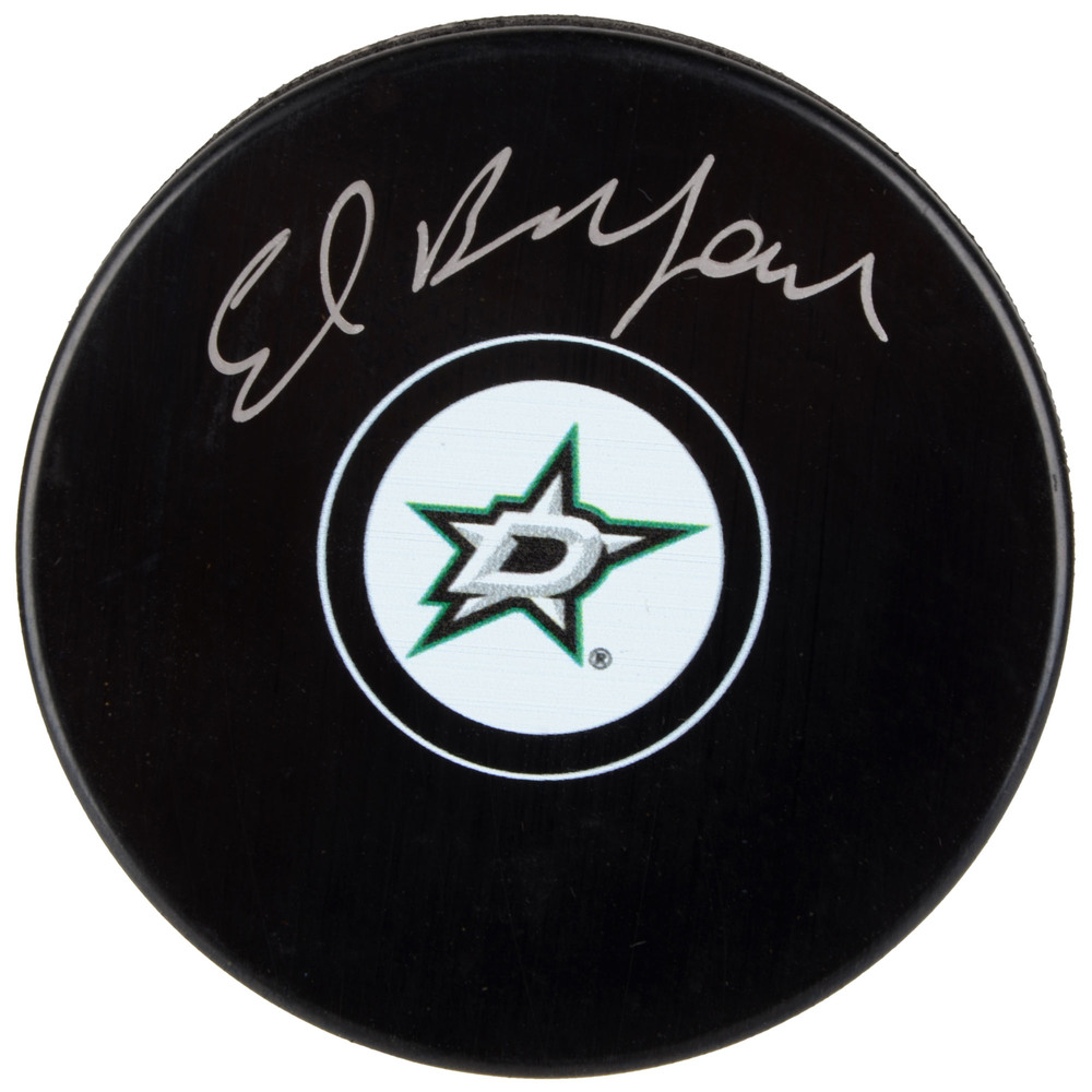 Ed Belfour Dallas Stars Autographed Hockey Puck