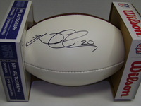 PANTHERS - KURT COLEMAN SIGNED PANEL BALL
