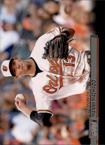 Photo of 2014 Stadium Club #52 Manny Machado
