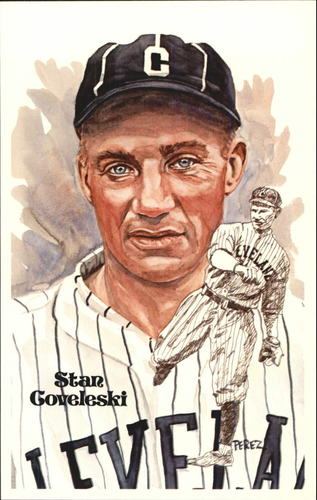 Photo of 1980-02 Perez-Steele Hall of Fame Postcards #112 Stan Coveleski -- Set #08689