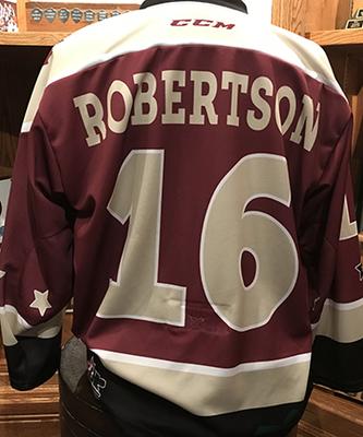 Nick Robertson (#16) - Petes Alumni Homecoming Jersey