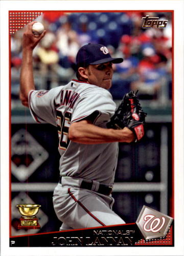 Photo of 2009 Topps #483 John Lannan