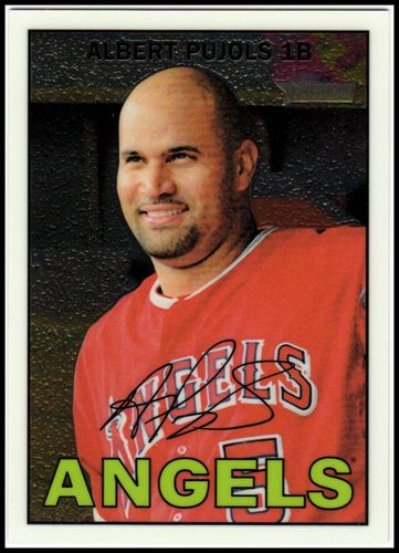 Photo of 2016 Topps Heritage Chrome #THC481 Albert Pujols