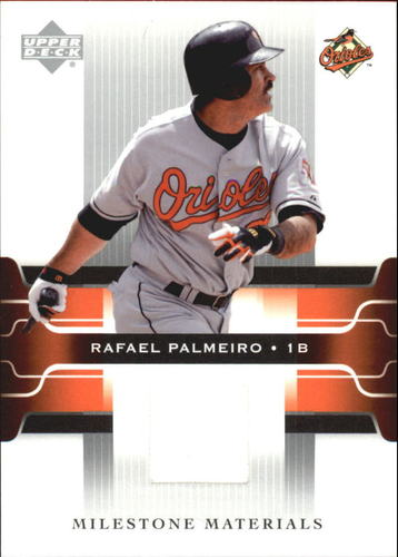 Photo of 2005 Upper Deck Milestone Materials #RP Rafael Palmeiro