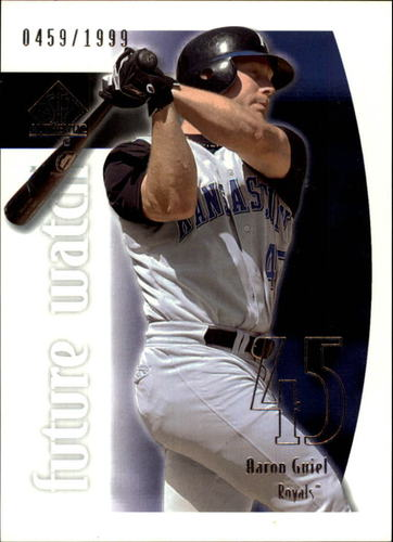 Photo of 2002 SP Authentic #207 Aaron Guiel FW RC