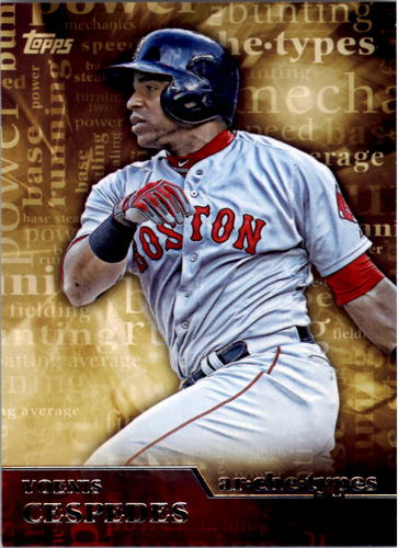 Photo of 2015 Topps Archetypes #A6 Yoenis Cespedes