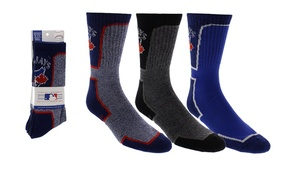 3 Pack Crew Socks Royal/Grey by Gertex