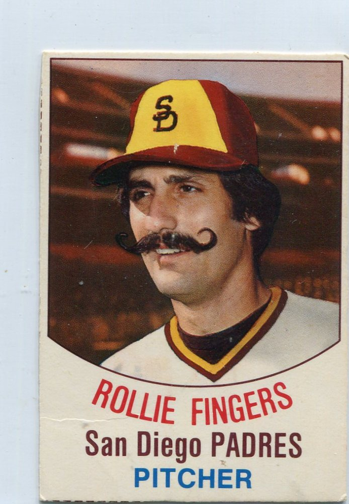 1977 Hostess #137 Rollie Fingers