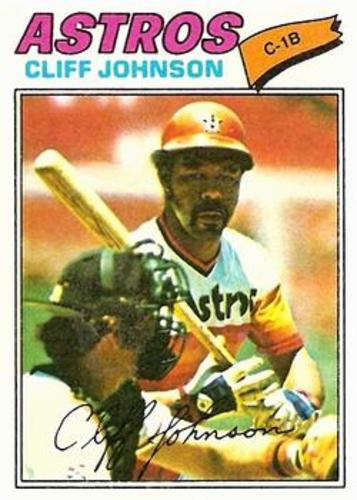 Photo of 1977 Topps #514 Cliff Johnson
