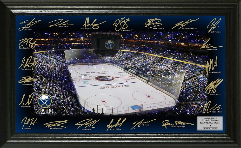 Serial #1 Buffalo Sabres Signature Rink