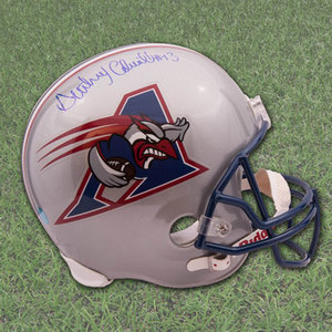 Anthony Calvillo Montreal Alouettes Autographed CFL Mini-Helmet