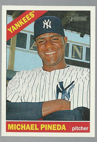 Photo of 2015 Topps Heritage #160 Michael Pineda