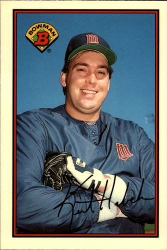 Photo of 1989 Bowman Tiffany #157 Kent Hrbek
