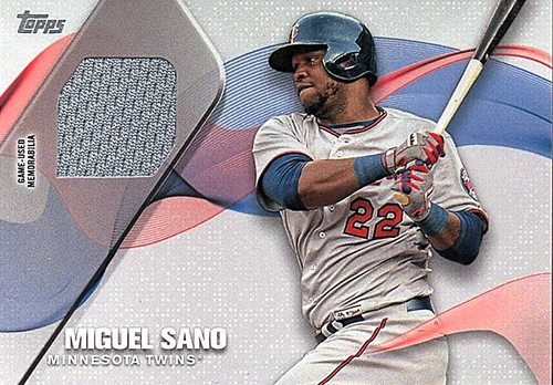 Photo of 2017 Topps Major League Materials #MLMMS Miguel Sano Jersey