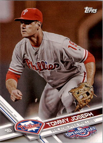 Photo of 2017 Topps Opening Day #107 Tommy Joseph