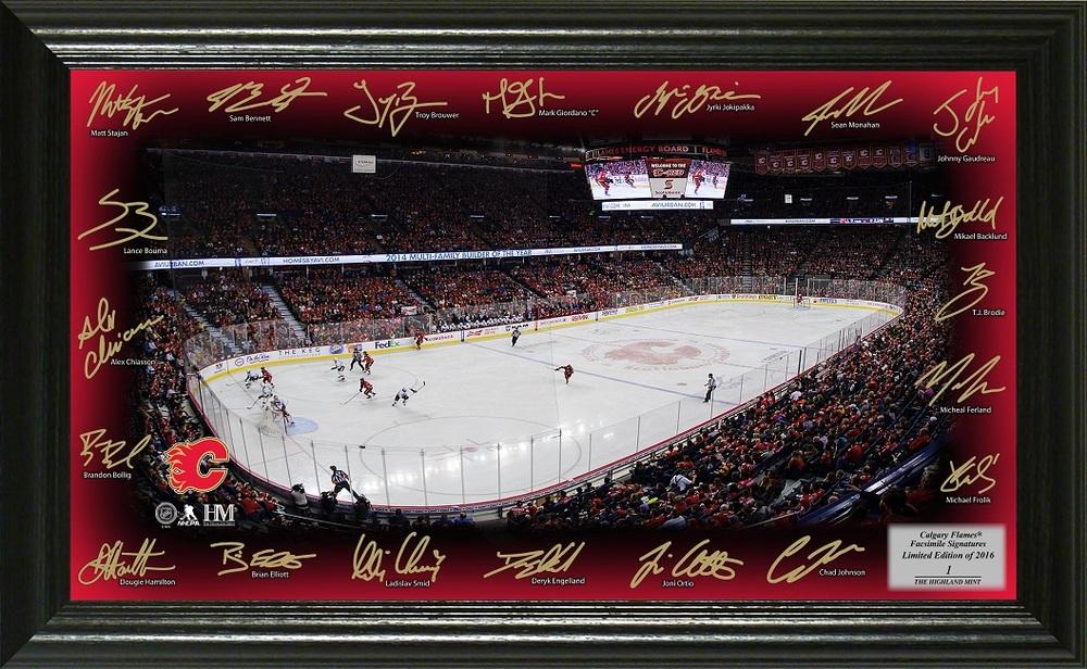 Serial #1 Calgary Flames Signature Rink
