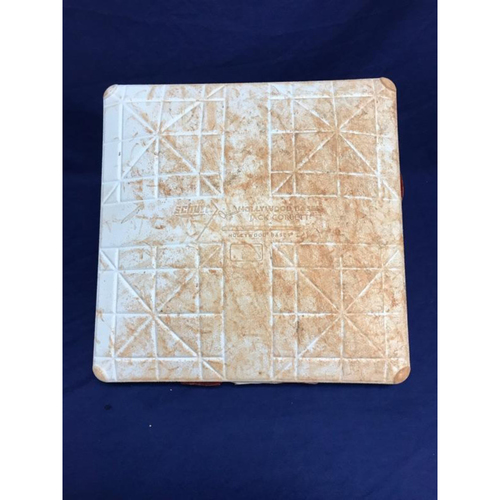 Photo of Game-Used 2nd Base from Albert Pujols 600th Career Homerun Game