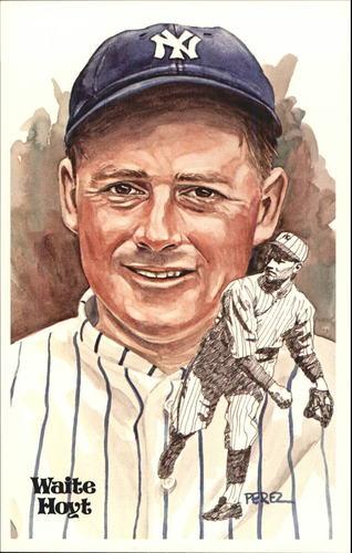 Photo of 1980-02 Perez-Steele Hall of Fame Postcards #113 Waite Hoyt -- Set #08689