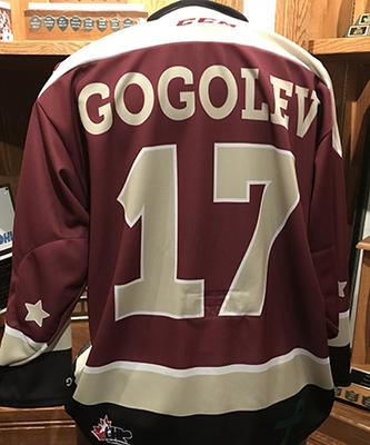 Pavel Gogolev (#17) - Game-Worn Petes Alumni Homecoming Jersey