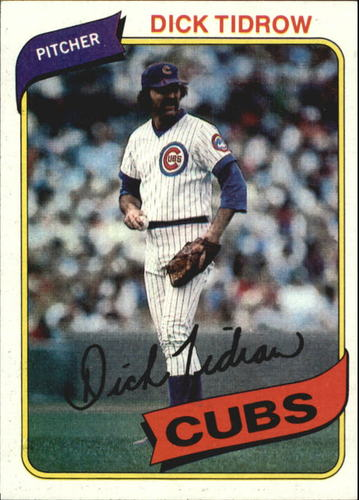 Photo of 1980 Topps #594 Dick Tidrow
