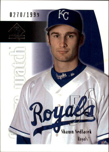 Photo of 2002 SP Authentic #208 Shawn Sedlacek FW RC