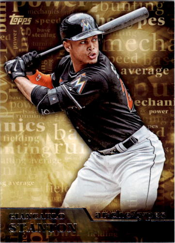 Photo of 2015 Topps Archetypes #A8 Giancarlo Stanton