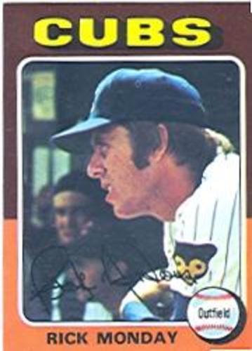 Photo of 1975 Topps #129 Rick Monday