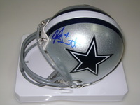 NFL - COWBOYS DAK PRESCOTT SIGNED COWBOYS MINI HELMET