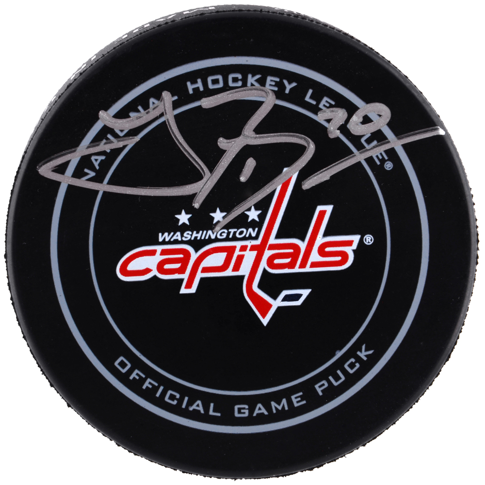 Troy Brouwer Washington Capitals Autographed Official Game Puck