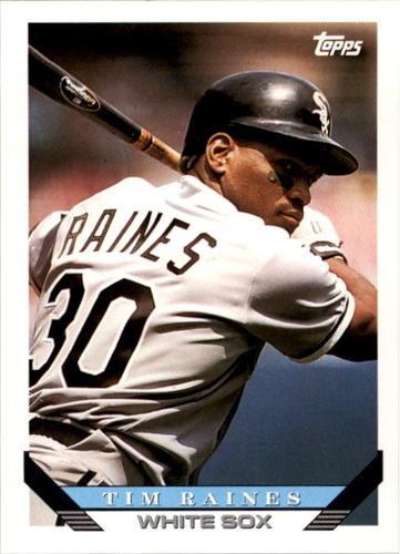 Photo of 1993 Topps #675 Tim Raines