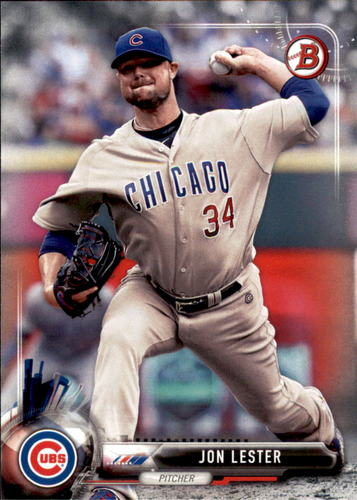Photo of 2017 Bowman #79 Jon Lester Cubs post-season