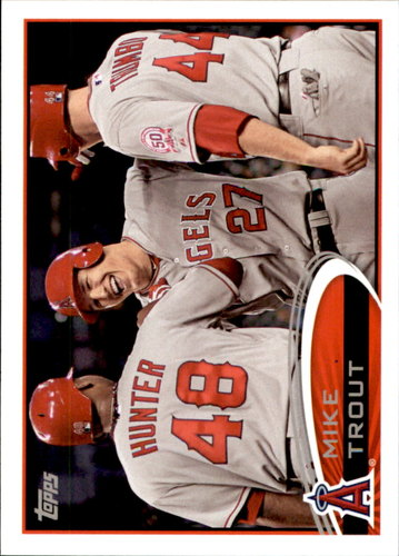 Photo of 2017 Topps Rediscover Topps #RT10 Mike Trout