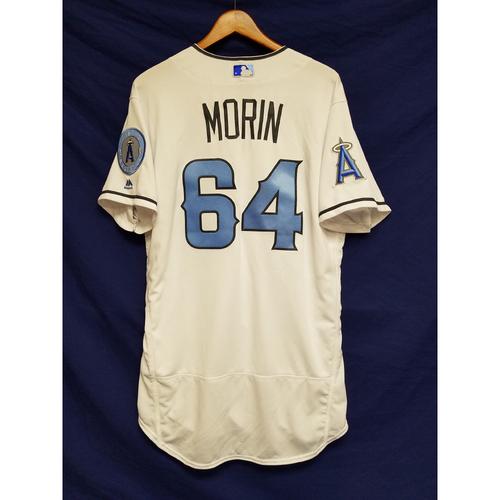 Photo of Mike Morin Team-Issued Blue Fathers Day Jersey