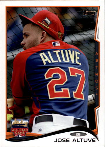 Photo of 2014 Topps Update #US190 Jose Altuve