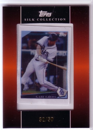 Photo of 2009 Topps Silk Collection #S210 Gabe Gross