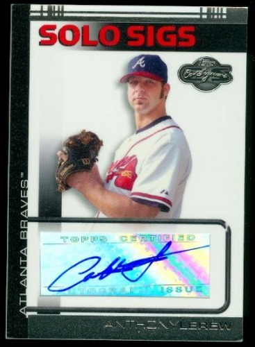 Photo of 2007 Topps Co-Signers Solo Sigs #AL Anthony Lerew B