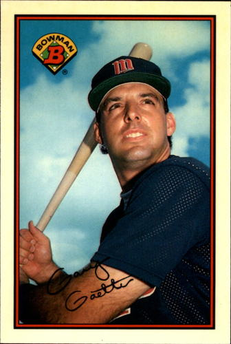 Photo of 1989 Bowman Tiffany #158 Gary Gaetti