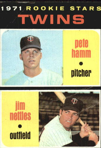 Photo of 1971 Topps #74 Rookie Stars/Pete Hamm RC/Jim Nettles RC