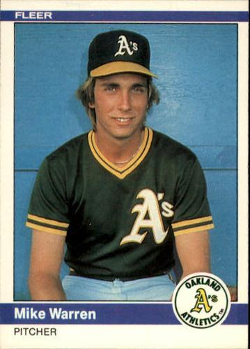 Photo of 1984 Fleer #461 Mike Warren