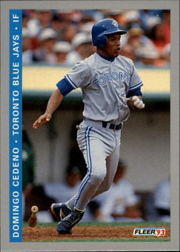 Photo of 1993 Fleer Final Edition #289 Domingo Cedeno RC
